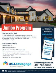 Jumbo Home Loan Flyer