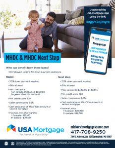 MHDC - Next Step Flyer