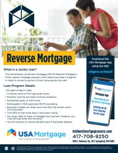 Reverse Mortgages Flyer