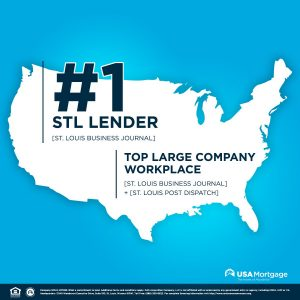 USA Mortgage - St Louis Business Journal #1 Lender